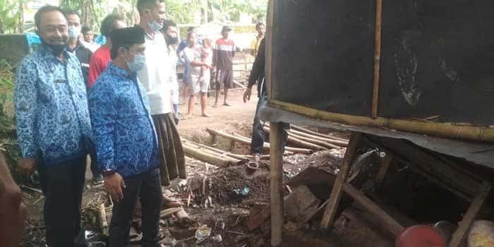 Camat Curug Langsung bangun Rumah Yatim Piatu Terlantar