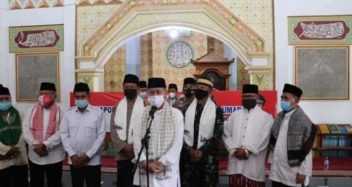 Kapolda Banten Bersama Danrem 064/MY silaturahmi dengan Ulama dan Umaroh