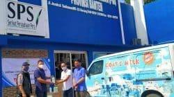 PWI Kabupaten Serang Terima Hand Sanitizer dari PT PJI