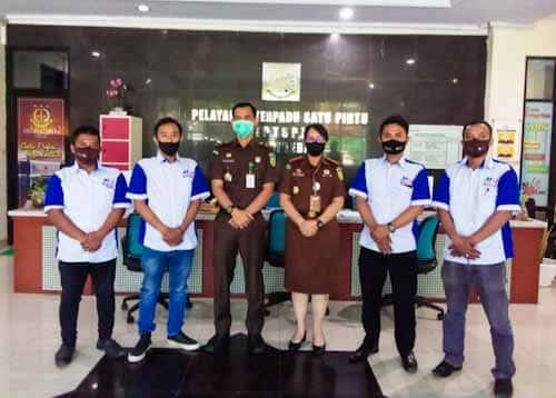 Perkumpulan Perusahaan MOI Jalin Silaturahmi dengan Kejari Lebak