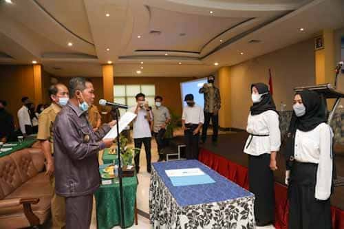 DP3AKB Kukuhkan Forum Anak dan Duta Anak, Walikota Serang: Anak Harus Mendapat Perlindungan Khusus