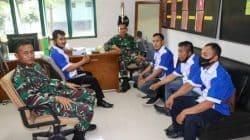 MOI DPC Lebak Jalin Silaturahmi Dengan Batalyon Cakra Mandala Yudha Ciuyah