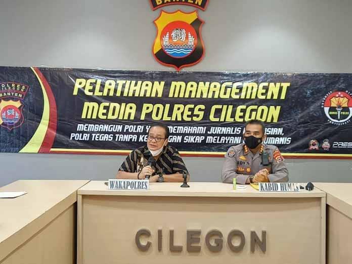 Bidhumas Polda Banten Gelar Pelatihan Jurnalisme, Polres Cilegon Dipekan Ke 2 Ramadhan