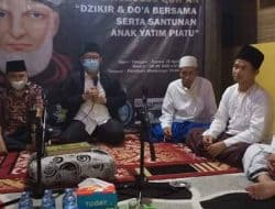 Malam Nuzulul Qur'an, Majelis Qutub Rabbani Gelar Dzikir, Do'a dan Santunan Yatim Piatu