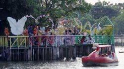 Kawasan wisata Situ Cipondoh, Kota Tangerang, ditutup untuk sementara waktu, karena rawan menjadi tempat penyebaran virus COVID-19.