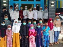 Management Banten Jaya FC Gelar Buka Bersama dan Santunan Yatim