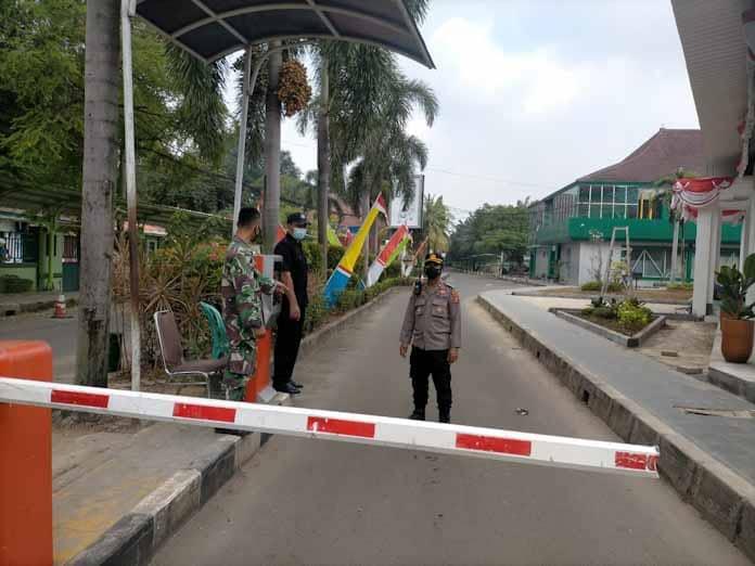 Polsek Cipocok Jaya Gelar Pengamanan Pelantikan Pengurus Keluarga Besar FISIP