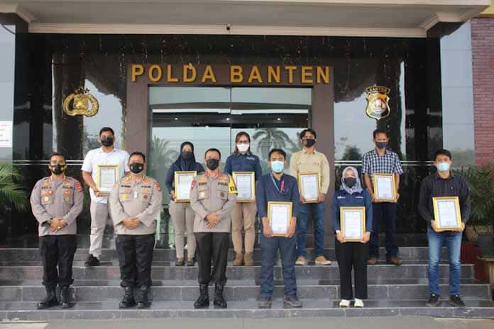 Kapolda Banten Berikan Penghargaan Kepada Ratusan Media Mitra Polri, Berikut Daftar Nama Medianya
