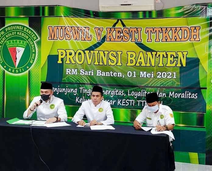 Tubagus Arif hidayat Resmi Jabat Ketua DPW TTKKDH Banten