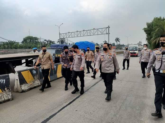 Kapolda Banten Cek Pos Pam Lebaran, Pastikan Kesiapan Personel