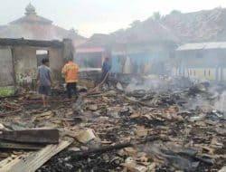Empat Rumah di Curugbitung Ludes Terbakar, Diduga Akibat Korsleting Listrik