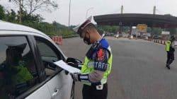 Hari Pertama Operasi Ketupat Maung 2021, Polda Banten Putar Balikkan Kendaraan Nekat Mudik Lebaran