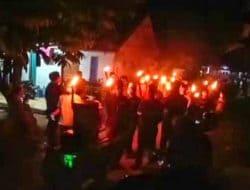 Pawai Obor Meriahkan Takbir Di Hari Idul Fitri 1442 Hijriyah Terapkan Prokes