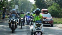Pastikan Situasi Aman, Kapolda Banten Pimpin langsung Patroli Sepeda Motor ke Tempat Wisata Anyer