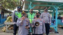 Polda Banten Bersama TNI dan Satgas Covid-19 Sosialisasikan Instruksi Gubernur ke Tempat-tempat Wisata