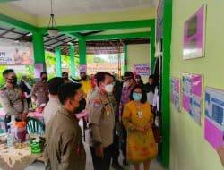 Dirbinmas Polda Banten Cek Posko PPKM Secara Mendadak
