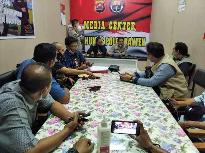 Perkumpulan Jurnalis Laporkan Oknum Aktivis KNPI Pelat Merah ke Polda Banten