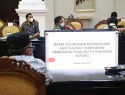 Gubernur Banten Dorong Percepatan Rekonsiliasi Aset Daerah Pemekaran Kabupaten dan Kota Serang