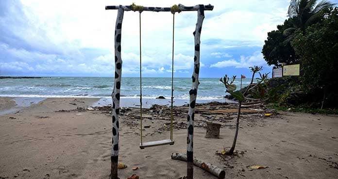 Warga yang dari luar daerah dilarang berkunjung ke tempat wisata di Banten saat libur lebaran. Ilustrasi