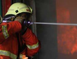 Lebaran Idul Fitri, 3 Rumah di Serang Hangus Terbakar