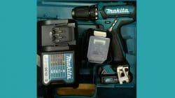 Kekuran Kelebihan Bor Tangan Makita DF 333 DWYE Cordless Drill