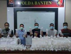 Polda Banten Ciduk Penyelundup 34.992 Bibit Lobster
