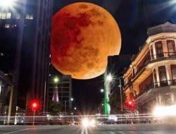 Gerhana Bulan Total Super Blood Moon 26 Mei 2021 di Hari Raya Waisak