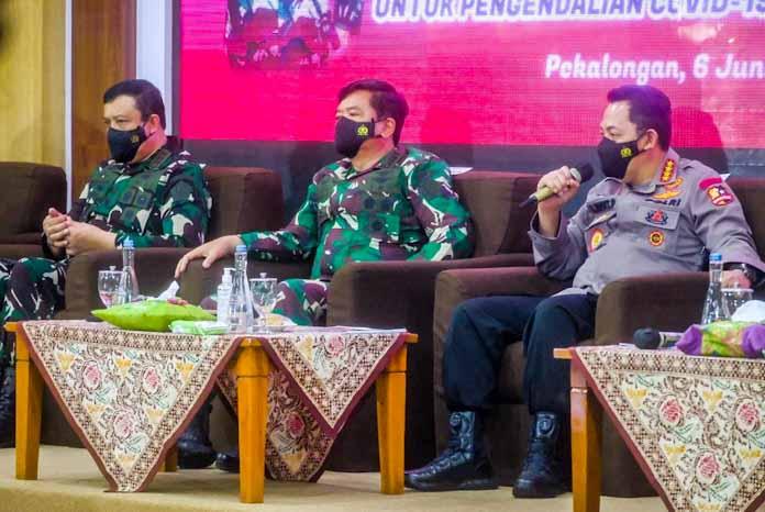 Panglima TNI-Kapolri Minta Perkuat PPKM Mikro dan Tingkatkan 5M serta 3T