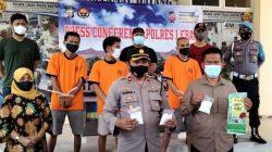 Satresnarkoba Polres Lebak Bekuk Pengedar Shabu di Lebak dan Pandeglang