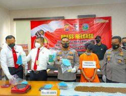 Polda Banten Ungkap Pelaku Home Industri Tembakau Gorila
