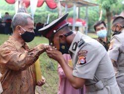 Jadi Polisi Lulusan Terbaik Di SPN Polda Banten, Putra Dari Seorang Security Ini Dipercaya Jadi Ajudan Kapolri