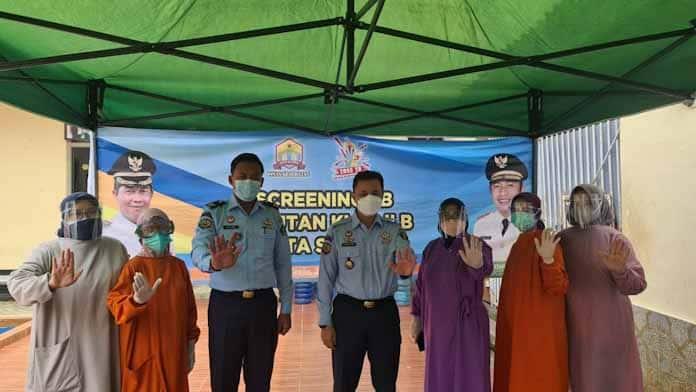 Rutan Kelas IIB Serang Bersama Dinkes Kota Serang Lakukan Screening TBC Bagi Warga Binaan
