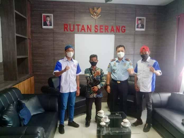Kepala Rutan Kelas II A Serang Aliandra Harahap Terima langsung Kunjungan DPC MOI Kota Serang