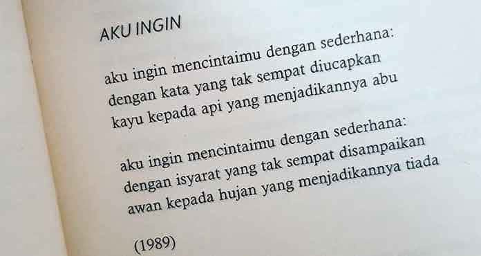 Puisi tentang rindu untuk sang kekasih
