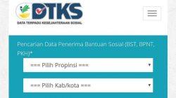 Cara Cek Penerima Bansos PKH, BST, dan BPNT di cekbansos.kemensos.go.id