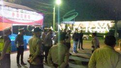 Polsek Maja Apel Pengamanan dan Patroli Di Malam Takbiran Idul Adha 1442 H