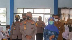 Polda Banten Gelar Vaksinasi Go To School di SMAN 2 Kota Serang