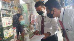 Satreskrim Polres Serang Kota Datangi Sejumlah Apotik