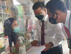 Cek 11 Obat Covid-19 Dan Oksigen, Satreskrim Polres Serang Kota Datangi Sejumlah Apotik