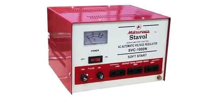 Stabilizer Voltage SVC