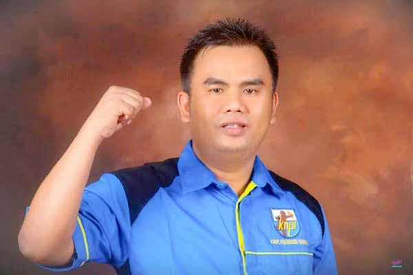 Sekretaris DPD KNPI Banten, Isak Newton