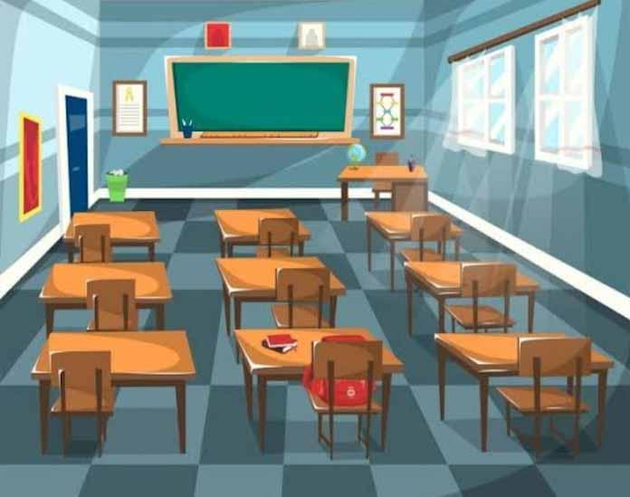 Rehabilitasi 5 Ruang Kelas SMPN 2 Pamarayan Diduga Bermasalah