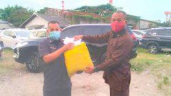 Peduli! PT SKL Berikan Bantuan Pada Keluarga Korban Kebakaran