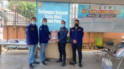 Lagi, Karang Taruna Tangsel Kembali Distribusikan Beras Dan Disinfektan Untuk Masyarakat