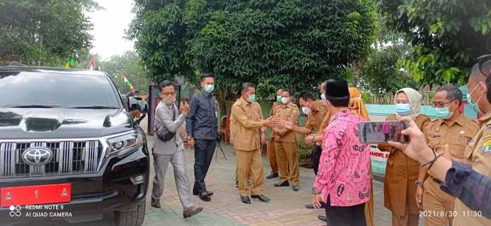 Polsek Walantaka Polres Serang Kota Gelar Pengamanan Vaksinasi Covid-19 Pelajar