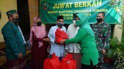 Ketua Persit KCK Koorcab Rem 064 PD III/Siliwangi Laksanakan Jumat Berkah, Kunjungi Yayasan Ibnu Abbas Al-Mujahidin