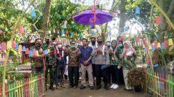 Kelurahan Curug Dampingi Team Penilai Kampung Resik Dan Aman