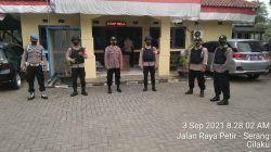 Polsek Curug Polres Serang Kota Rutin Laksanakan Sispam Mako