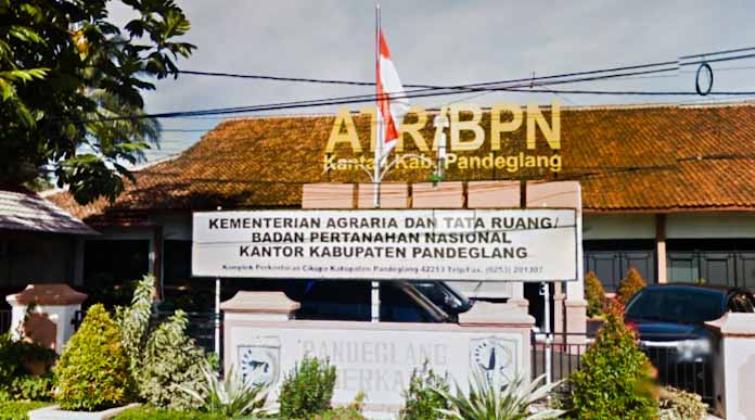 Foto: Kantor BPN Kabupaten Pandeglang