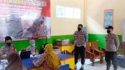 Polsek Baros Sisir Santri dan Pelajar Untuk Diberikan Vaksin Gratis